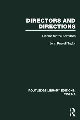 Picture of Directors and Directions: Cinema for the Seventies