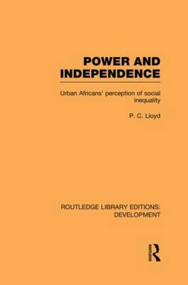 Picture of Power and Independence: Urban Africans' Perception of Social Inequality