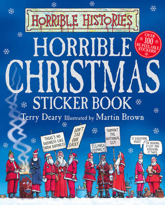 Picture of Horrible Christmas Sticker Book