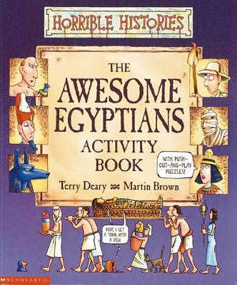 Picture of Awesome Egyptians Activity Book