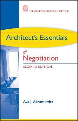 Picture of Architect's Essentials of Negotiation