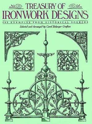 Picture of Treasury of Ironwork Designs: 469 Examples from Historical Sources