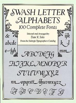 Picture of Swash Letter Alphabets: 100 Complete Fonts