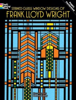 Picture of Stained Glass Window Designs of Frank Lloyd Wright