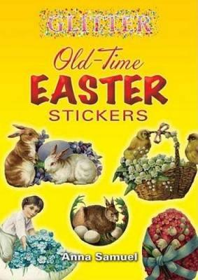 Picture of Glitter Old-Time Easter Stickers