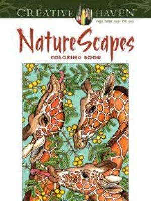 Picture of Creative Haven Naturescapes Coloring Book