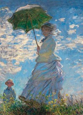 Picture of Woman with a Parasol Notebook
