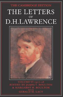 Picture of The Letters of D.H. Lawrence: v.6: March 1927-November 1928