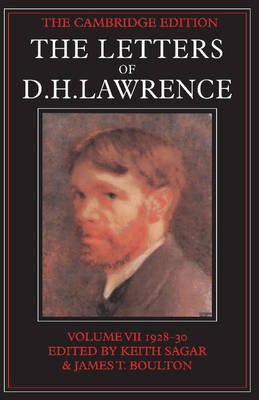 Picture of The Letters of D.H. Lawrence: v.7: November 1928-February 1930
