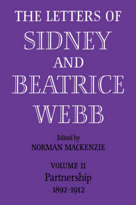 Picture of The Letters of Sidney and Beatrice Webb: Volume 2, Partnership 1892-1912: v. 2: Partnership 1892 - 1912