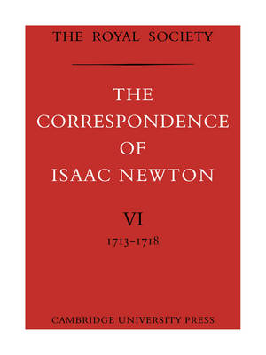 Picture of The Correspondence of Isaac Newton