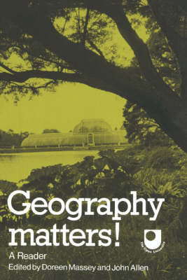 Picture of Geography Matters!: A Reader