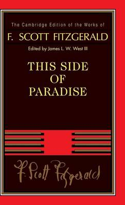 Picture of F. Scott Fitzgerald: This Side of Paradise
