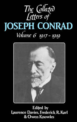 Picture of The Collected Letters of Joseph Conrad: Volume 6, 1917-1919: v.6: 1917-1919