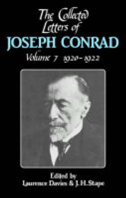 Picture of The Collected Letters of Joseph Conrad: Volume 7, 1920-1922: v. 7: 1920 -1922