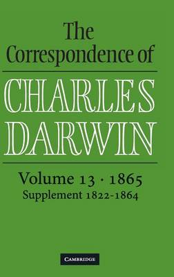 Picture of The Correspondence of Charles Darwin: Volume 13, 1865: v.13: 1865