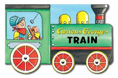 Picture of Curious George's Train (Mini Movers Shaped Board Books)