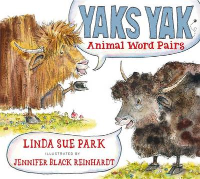Picture of Yaks Yak: Animal Word Pairs