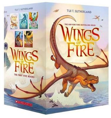 Picture of Wings of Fire Boxset, Books 1-5 (Wings of Fire)