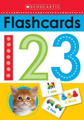 Picture of Flashcards: 123 (Scholastic Early Learners)