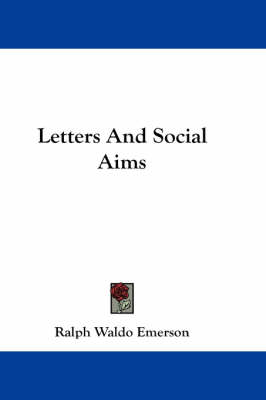 Picture of Letters And Social Aims