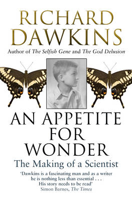 Picture of An Appetite for Wonder: The Making of a Scientist