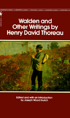 henry david thoreau walden and transcendental values A complete text of henry 'david' thoreau's walden with side-by-side comments by a former english teacher and lifetime thoreauvian which explain thoreau's purpose for writing walden, his metaphoric language, and his philosophy.