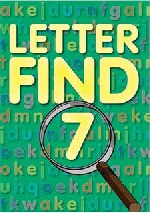Picture of LETTER FIND BK 7