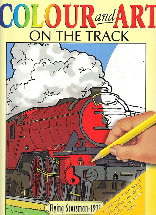 Picture of COLOUR & ART- FLYING SCOTSMAN