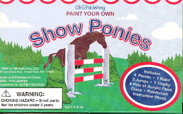 Picture of PAINT YOUR OWN- SHOW PONIES