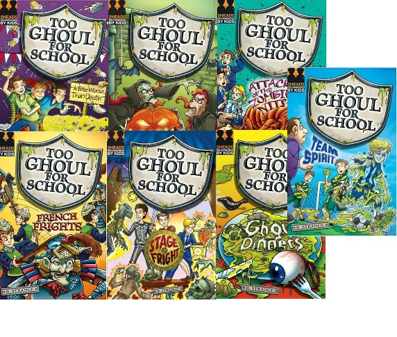Picture of Too Ghoul For School 7 Book Pack
