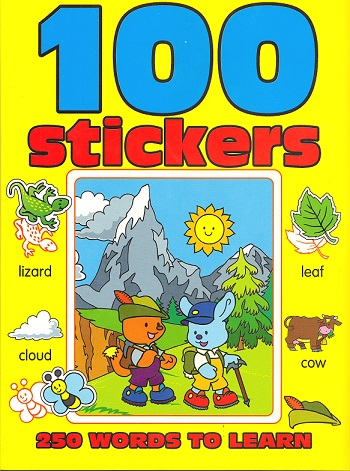 Picture of 100 STICKERS- YELLOW