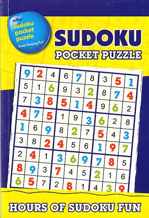 Picture of Pocket Puzzles - Sudoku - Blue