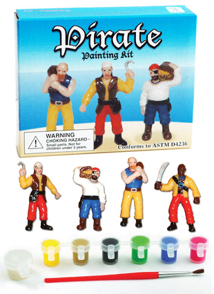 Picture of PIRATE PAINTING KIT