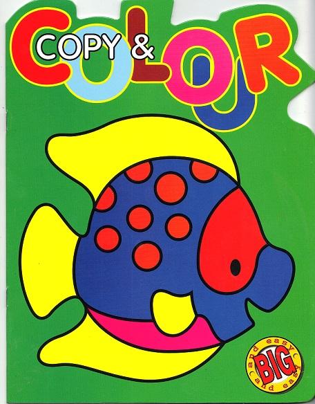 Picture of COPY & COLOUR- FISH