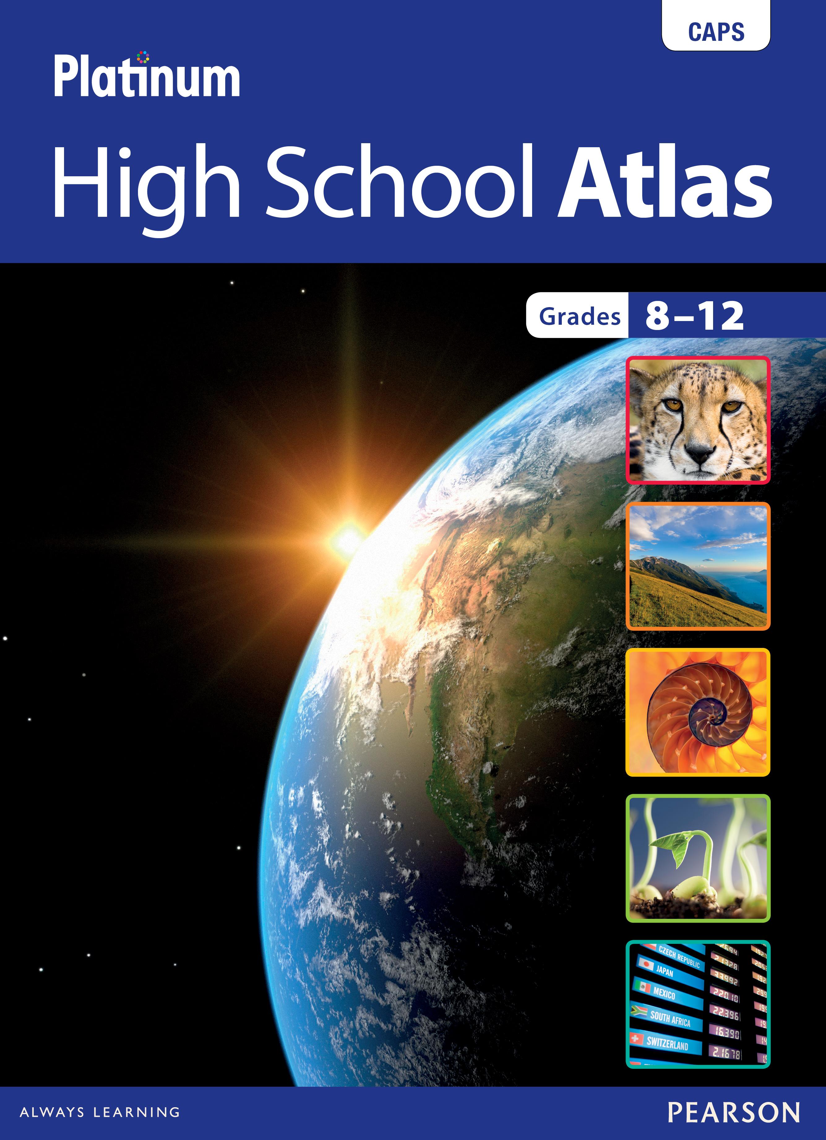 Picture of Platinum High School Atlas CAPS: Gr 8-12
