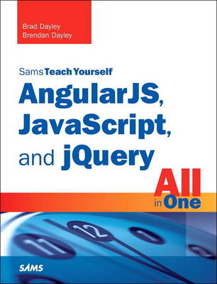 Picture of AngularJS, JavaScript, and jQuery All in One, Sams Teach Yourself