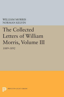 Picture of The Collected Letters of William Morris: 1889-1892