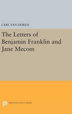 Picture of Letters of Benjamin Franklin and Jane Mecom