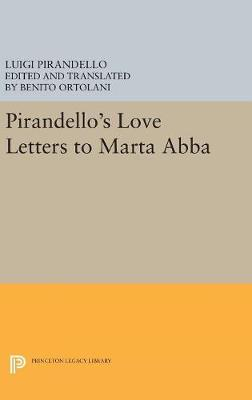Picture of Pirandello's Love Letters to Marta Abba