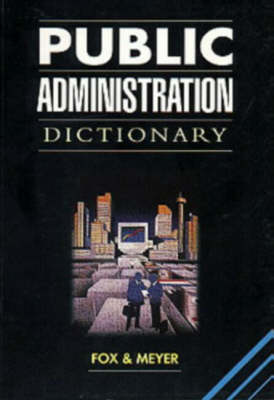 Picture of Public administration dictionary