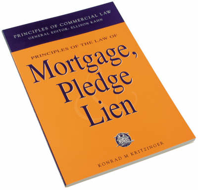 Picture of Principles of the Law of Mortgage, Pledge and Lien