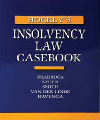 Picture of Insolvency law casebook