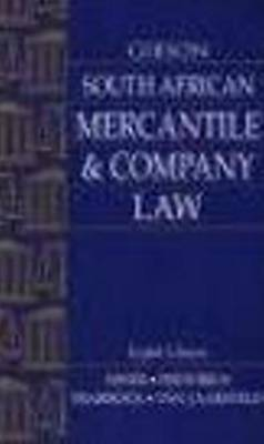 Picture of Gibson South African mercantile and company law