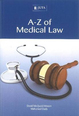 Picture of A-Z of medical law