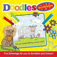 Picture of DOODLES- SCRIBBLE- YELLOW