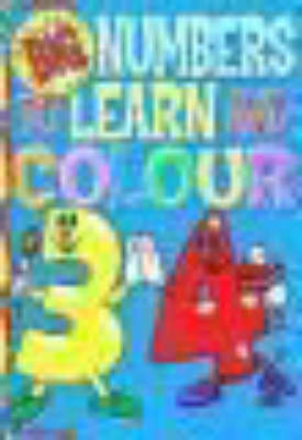 Picture of Big and Easy Numbers to Learn and Colour Book