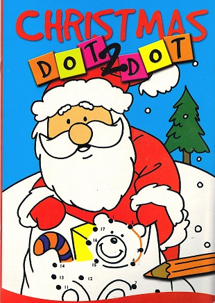 Picture of CHRISTMAS DOT TO DOT- SANTA