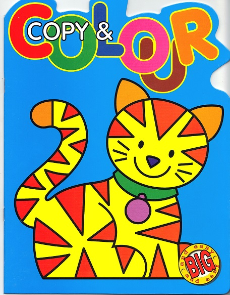 Picture of COPY & COLOUR- CAT