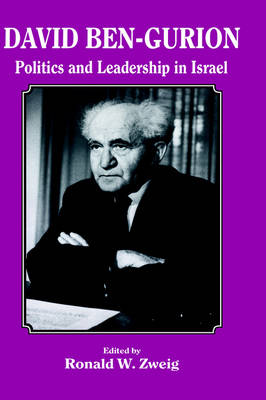 Picture of David Ben-Gurion: Politics and Leadership in Israel